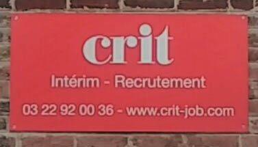 Agence CRIT AMIENS BTP