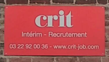 Agence CRIT RECRUTEMENT AMIENS