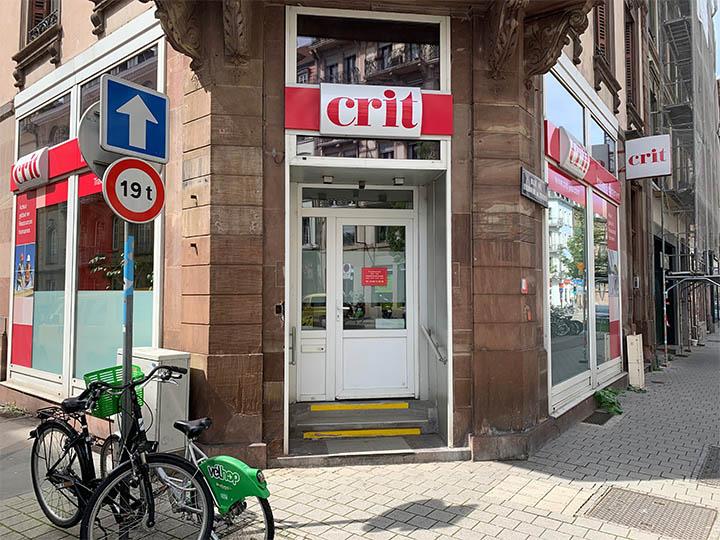 Agence CRIT STRASBOURG BTP