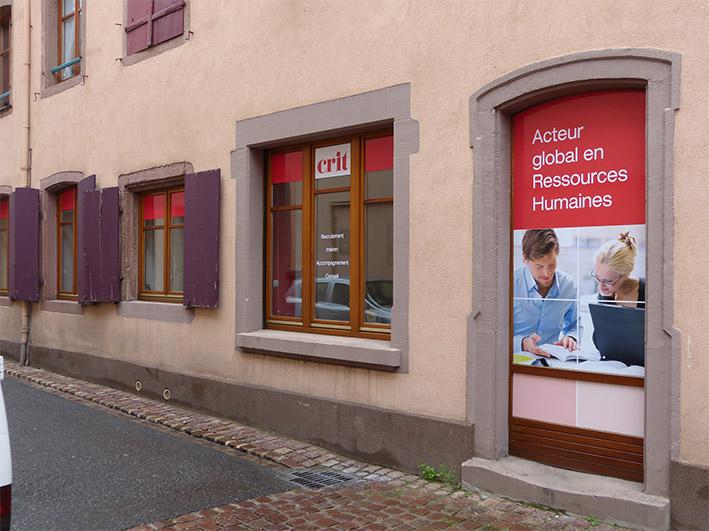 Agence CRIT GUEBWILLER Tertiaire