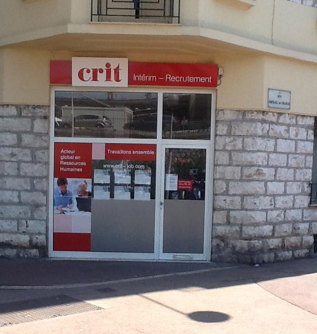 Agence CRIT NICE BTP