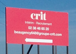 Agence CRIT BEAUGENCY