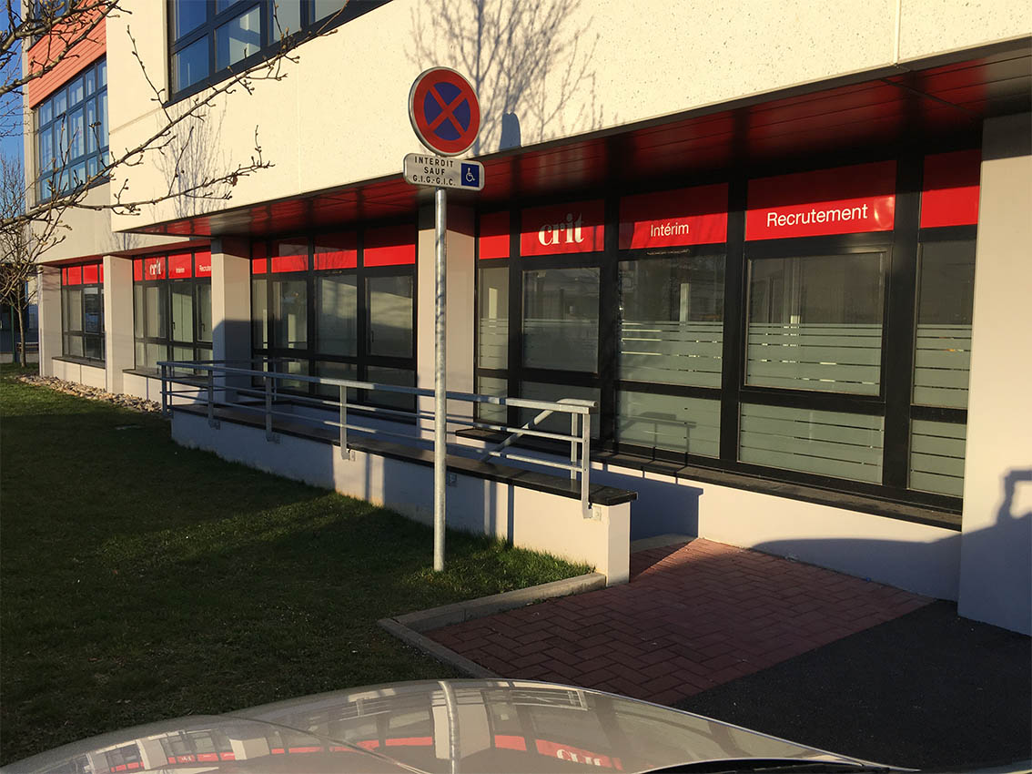 Agence CRIT ILLKIRCH-GRAFFENSTADEN Tertiaire