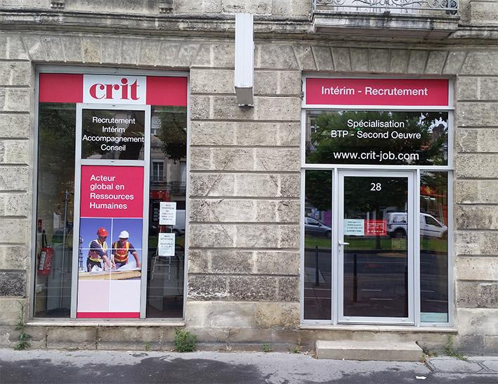 Agence CRIT BORDEAUX BTP