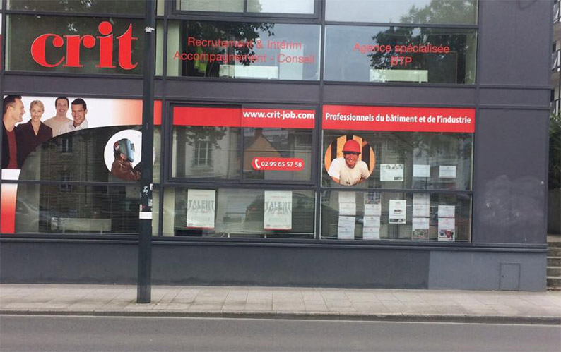 Agence CRIT RENNES BTP