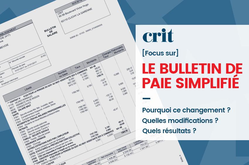 Comment Lire Le Nouveau Bulletin De Paie Crit Job 76